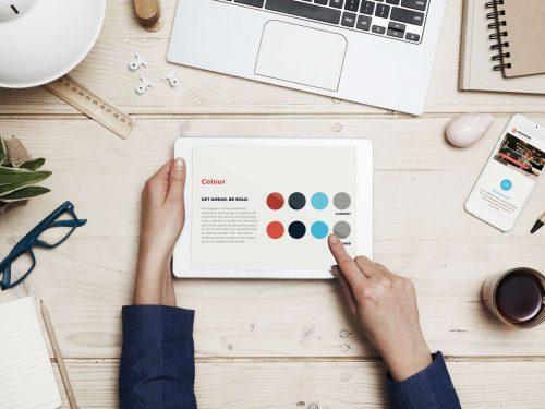 resolution-IT-mockup-style-guide-branding-digital-marketing-ipad