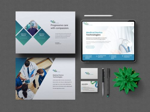 branding design and stationery graphic design and website design for MDT Brisbane