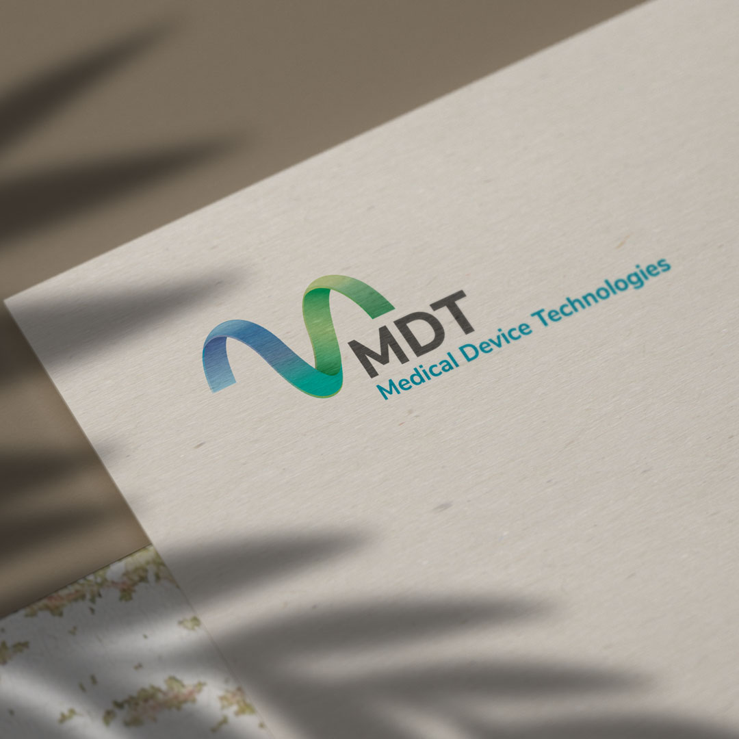 MDT Logo On Paper Created By Ronin Marketing