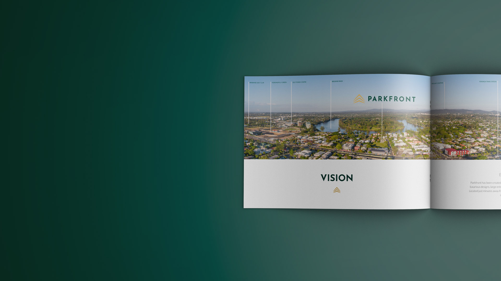Parkfront Vision Page In Book
