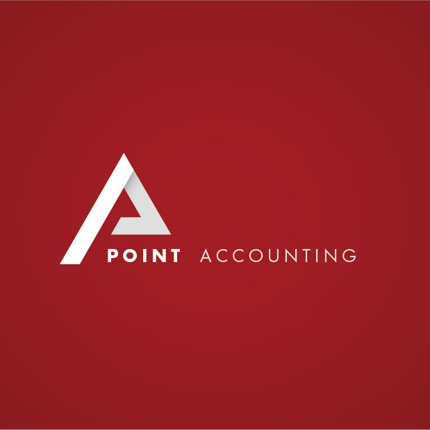 point accounting business card print brand logo ronin digital marketing client