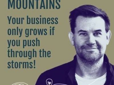 Your Business Only Grows If You Push Through The Storms!